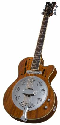 Dean RCE NM CE Cutaway 6 String RH Acoustic-Electric Resonator Guitar - Natural Product Image 4
