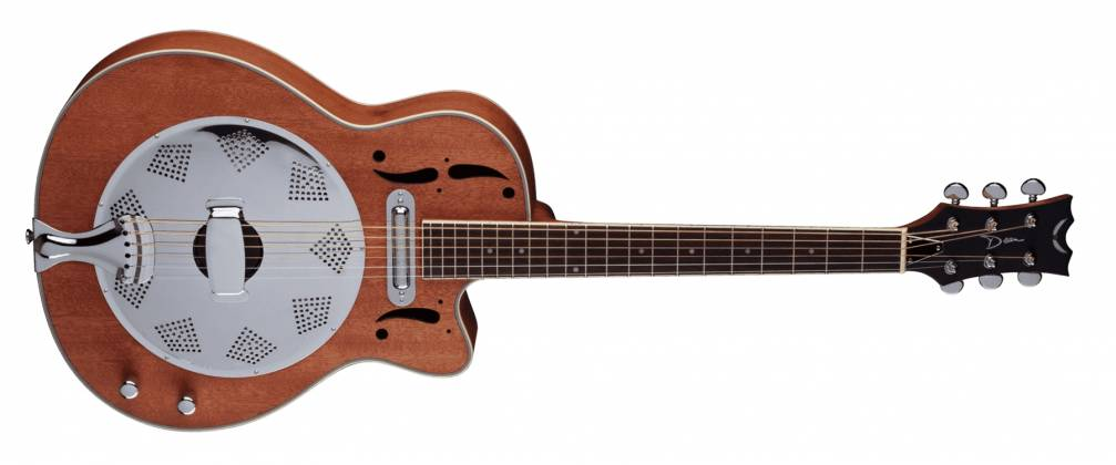 Dean RCE NM CE Cutaway 6 String RH Acoustic-Electric Resonator Guitar - Natural Product Image 6