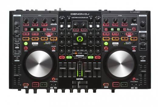 Denon DJ MC6000-MK2 4 Channel, 8 Source Premium Digital DJ Controller Mixer  Product Image 4