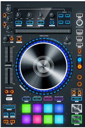 Denon DJ MC7000 Professional DJ Controller with Dual Audio Interfaces Product Image 3