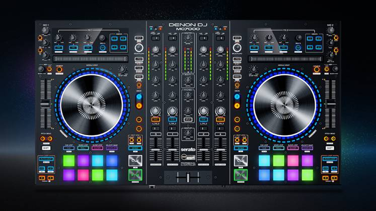 Denon DJ MC7000 Professional DJ Controller with Dual Audio Interfaces Product Image 5