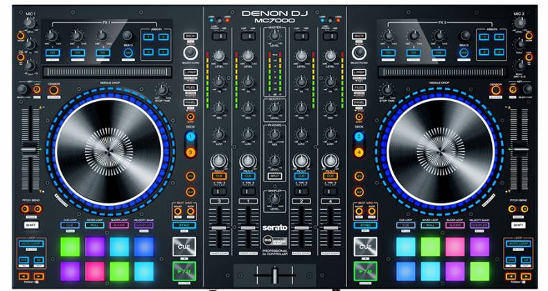 Denon DJ MC7000 Professional DJ Controller with Dual Audio Interfaces Product Image 6