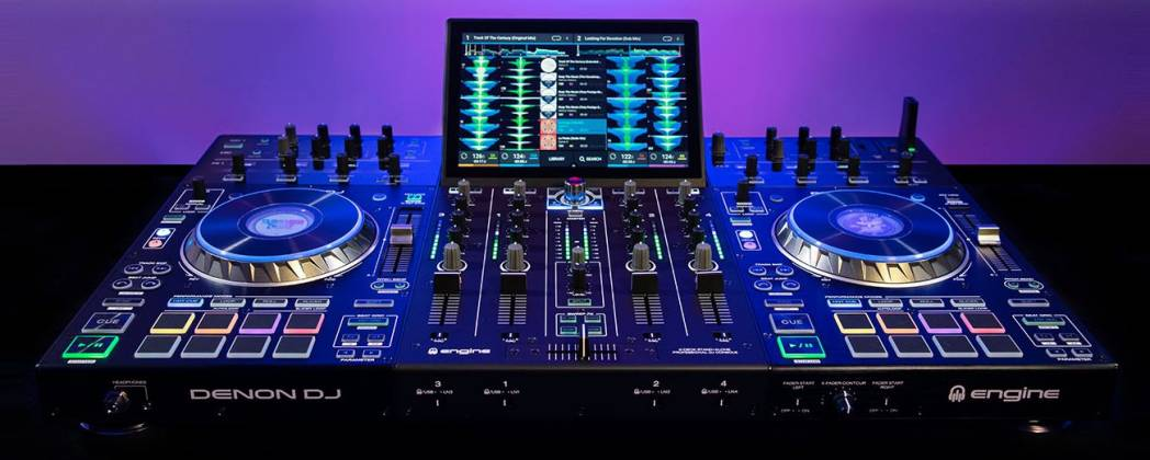 """Denon DJ Prime 4 Standalone 4 Deck DJ System with 10"""" Touchscreen Product Image 2"""