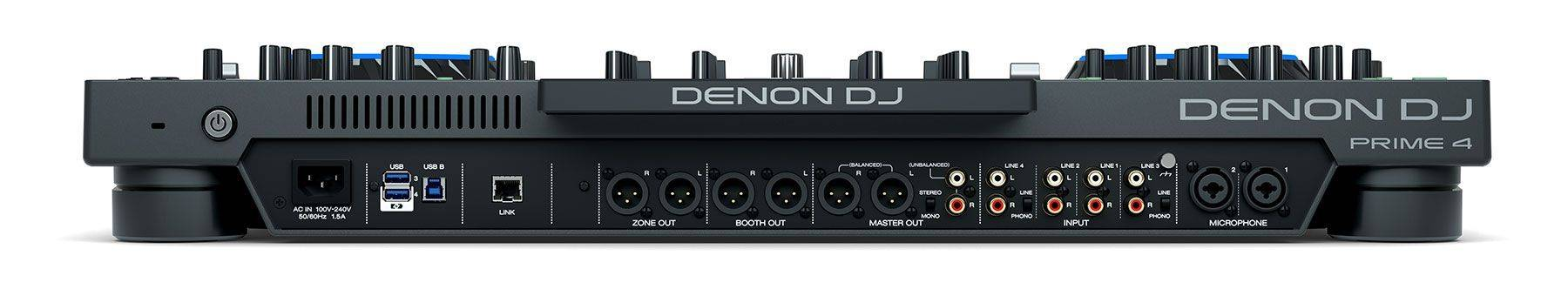 """Denon DJ Prime 4 Standalone 4 Deck DJ System with 10"""" Touchscreen Product Image 11"""