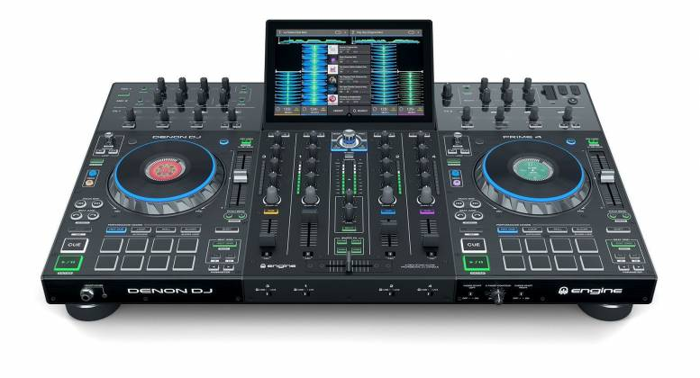"""Denon DJ Prime 4 Standalone 4 Deck DJ System with 10"""" Touchscreen Product Image 9"""