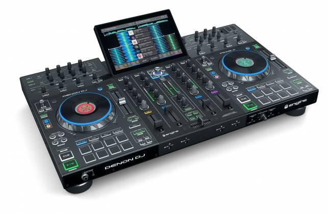 """Denon DJ Prime 4 Standalone 4 Deck DJ System with 10"""" Touchscreen Product Image 10"""