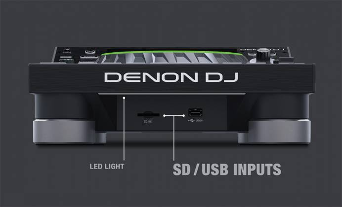 Denon DJ SC5000 PRIME Professional Media Player and Controller with 7 Inch Multi-Touch Display Product Image 5