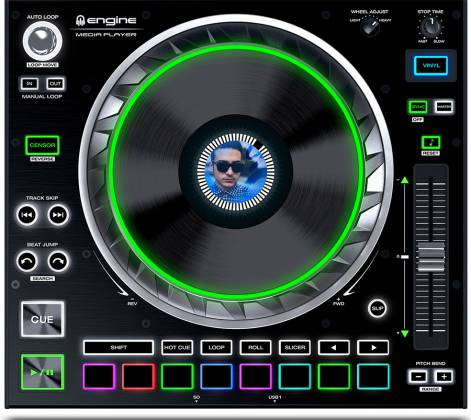 Denon DJ SC5000 PRIME Professional Media Player and Controller with 7 Inch Multi-Touch Display Product Image 8