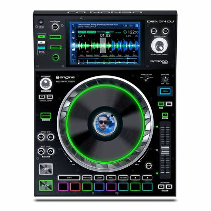 Denon DJ SC5000 PRIME Professional Media Player and Controller with 7 Inch Multi-Touch Display Product Image 2