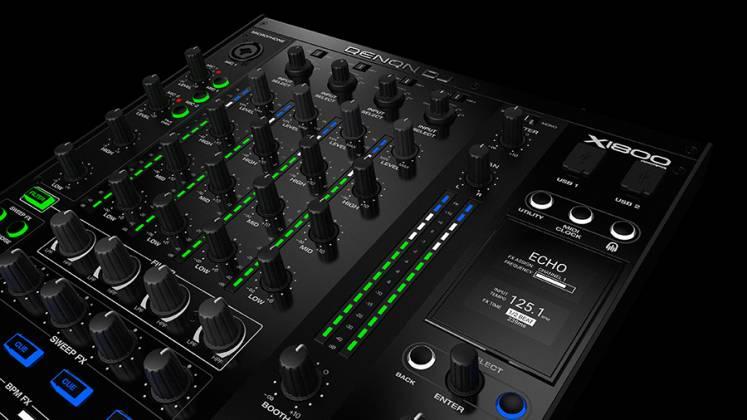Denon DJ X1800 PRIME Professional 4 Channel DJ Club Mixer Product Image 12