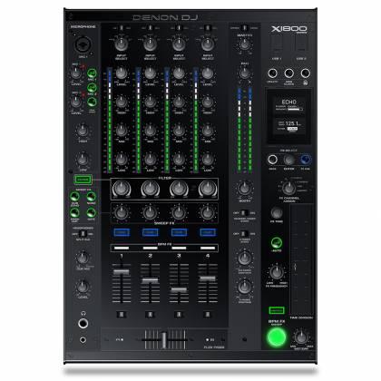 Denon DJ X1800 PRIME Professional 4 Channel DJ Club Mixer Product Image 2