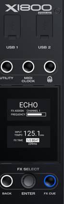 Denon DJ X1800 PRIME Professional 4 Channel DJ Club Mixer Product Image 5