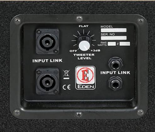 "Eden P1515X-4 800-Watt 2X15"" Bass Speaker Cabinet Product Image 6"