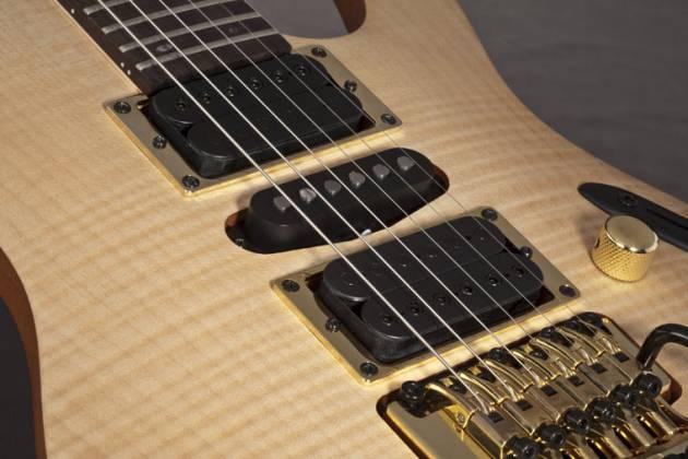 Ibanez EGEN8-PLB-d Platinum Blond Herman Li Signature 6-String Right on