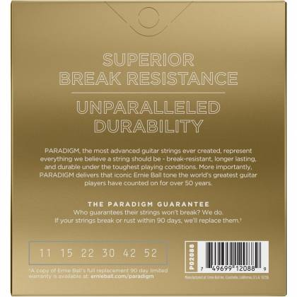Ernie Ball 2088EB Paradigm Paradigm 80/20 Bronze Acoustic Guitar Strings .011-.052 Light Product Image 3