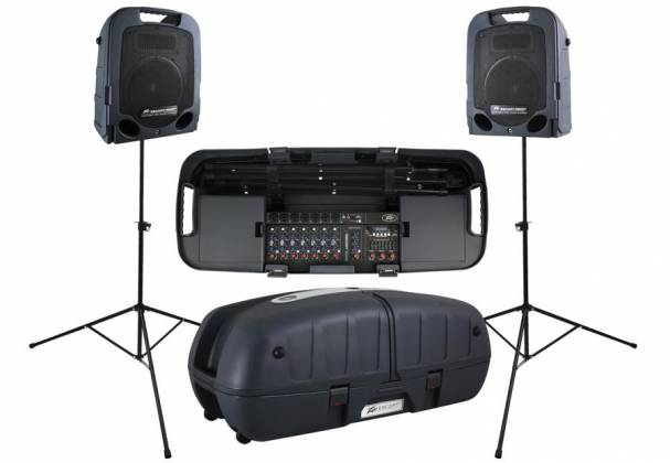 Peavey 03608630 ESCORT 6000 Bluetooth Enabled All In One 600 Watt 9 Channel PA System Product Image 2