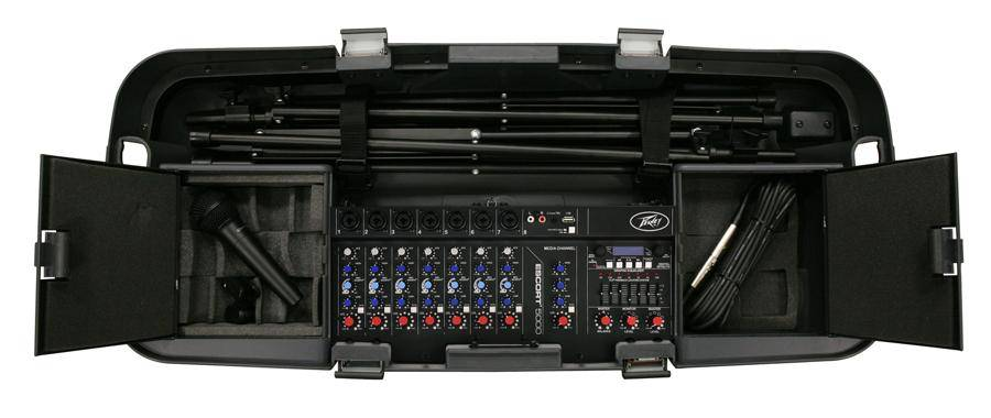 Peavey 03608630 ESCORT 6000 Bluetooth Enabled All In One 600 Watt 9 Channel PA System Product Image 5