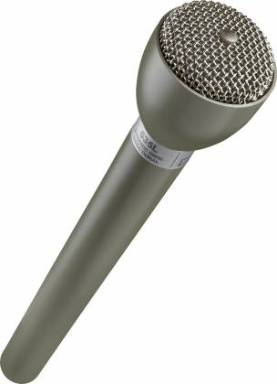 "Electro Voice 635L Beige 9.5"" Long Handle Omnidirectional Dynamic Broadcast Microphone  Product Image 3"