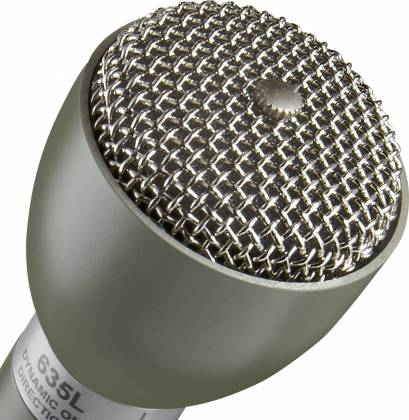 "Electro Voice 635L Beige 9.5"" Long Handle Omnidirectional Dynamic Broadcast Microphone  Product Image 6"