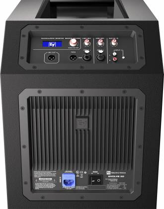 Electro Voice EVOLVE50-TB/SB-COMBO Active Portable Line Array Sound System with Bluetooth Product Image 8