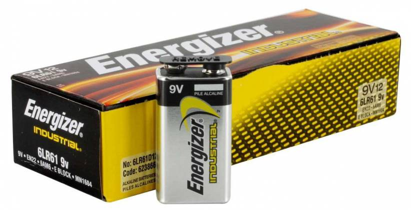 Energizer EN-22-12pack 9V Industrial Battery 12 pack Product Image 2