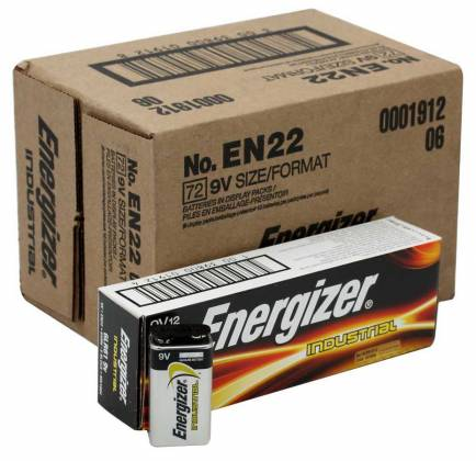 Energizer EN-22-12pack 9V Industrial Battery 12 pack Product Image 7