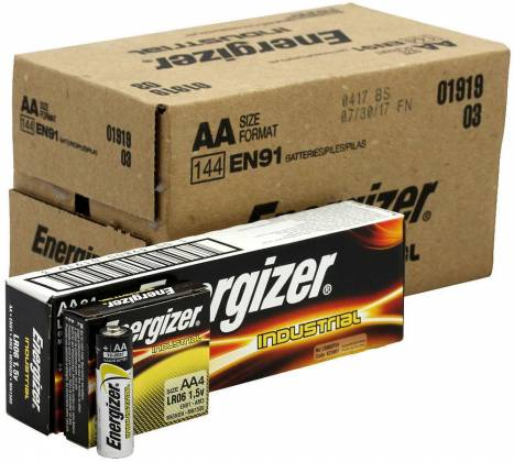 Energizer EN-91-144pack AA Industrial Battery 144 Pack Product Image 5