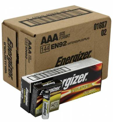 Energizer EN-92-144pack AAA Industrial Battery 144 Pack Product Image 7