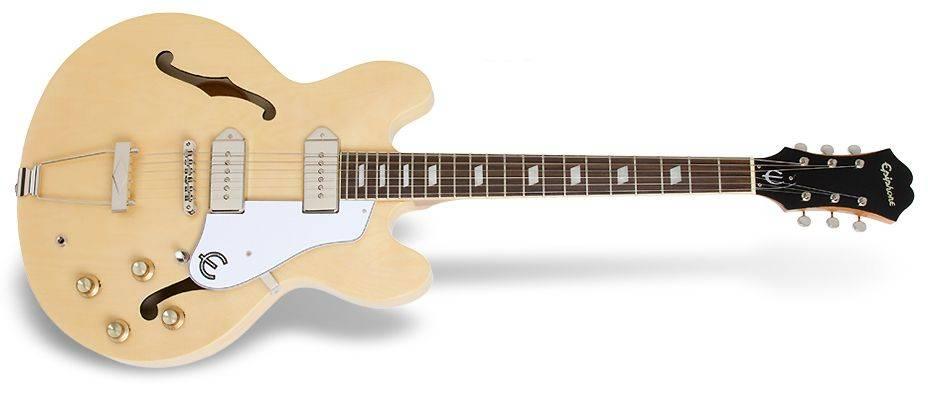 Epiphone ETCANACH Natural Casino 6 String RH Hollowbody Guitar Product Image 2