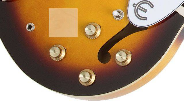 Epiphone ETCANACH Natural Casino 6 String RH Hollowbody Guitar Product Image 4