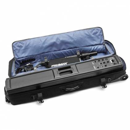Fishman PRO-AMP-SL6 Live Sound SA+6 Bundle with SA330x/SAExpand and Deluxe Carry Bag  Product Image 5