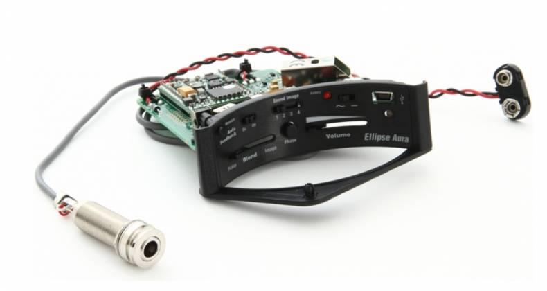 Fishman PRO-MAN-ELA Ellipse Aura Undersaddle Acoustic Pickup and Preamp-Narrow Format Product Image 5