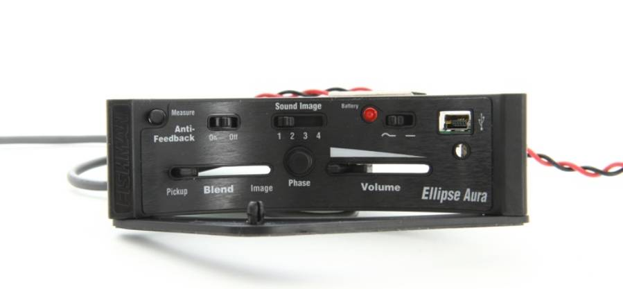 Fishman PRO-MAN-ELA Ellipse Aura Undersaddle Acoustic Pickup and Preamp-Narrow Format Product Image 4
