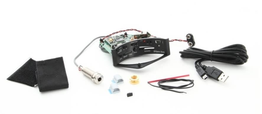 Fishman PRO-MAN-ELA Ellipse Aura Undersaddle Acoustic Pickup and Preamp-Narrow Format Product Image 9