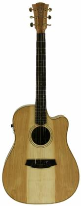 Cole Clark CCFL2EC-COLB Dreadnought Guitar w/ Pickup & Ctwy - Cedar of Leb/Blackwood Product Image 3