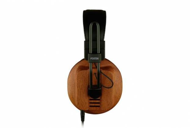 Fostex T60RP Stereo Headphones with African Mahogany Earcups and comfortable padding t-60-rp Product Image 4