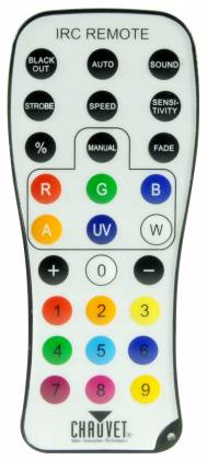 Chauvet DJ IRC6 Infrared Remote Control Product Image 2