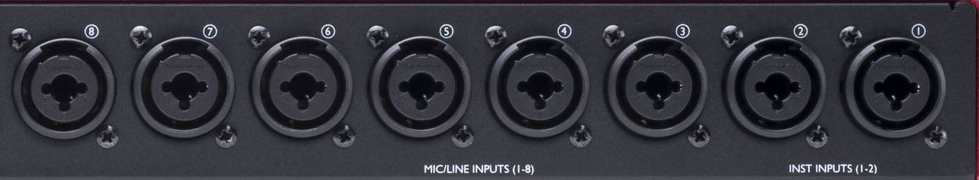 Focusrite Scarlett Octopre Dynamic Second Generation Natural Sounding Dynamic Mic Preamp Product Image 7
