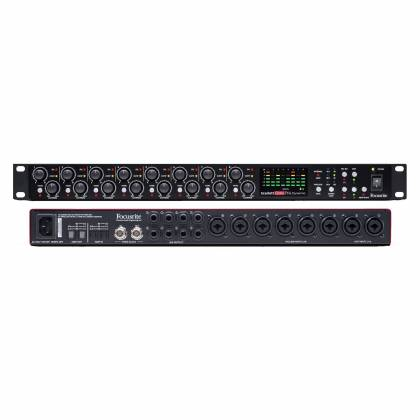 Focusrite Scarlett Octopre Dynamic Second Generation Natural Sounding Dynamic Mic Preamp Product Image 5