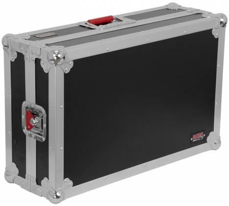 Gator G-TOURDSPUNICNTLA Large Sized DJ Controller Case with Laptop Shelf g-tour-dsp-unicnt-la Product Image 4