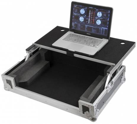 Gator G-TOURDSPUNICNTLA Large Sized DJ Controller Case with Laptop Shelf g-tour-dsp-unicnt-la Product Image 2