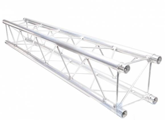 Global Truss SQ-F24-350 F24 Light Duty Square Segment 11.48 ft. (3.5 Meter) Product Image 2