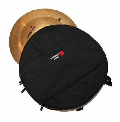 Gator MI GP-CYMBAK-22 Padded Cymbal Backpack for up to 6 22 Inch Cymbals Product Image 2