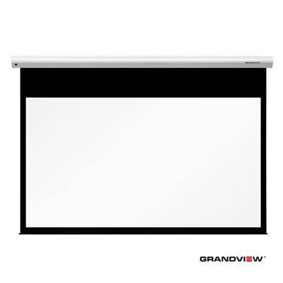 """Grandview GV-RTT100 - 100"""" Recessed Ceiling Tab-Tension Motorized Projector Screen 16:9 Product Image 2"""