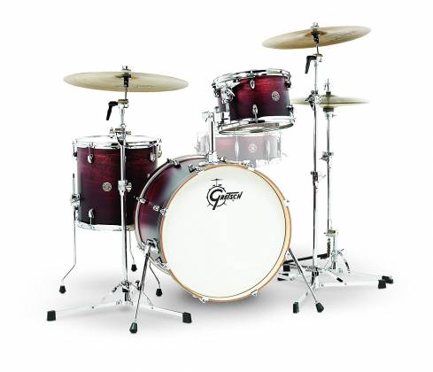 Gretsch Drums CT1-J403-SAF Catalina Club 3 Piece Drum Shell Pack, Satin Antique Fade CT1J403SAF Product Image