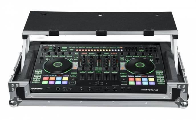 Gator G-TOUR DSPDJ808 Custom Fit Road Case for Roland DJ-808 with Sliding Laptop Platform g-tour-dsp-dj-808 Product Image 2