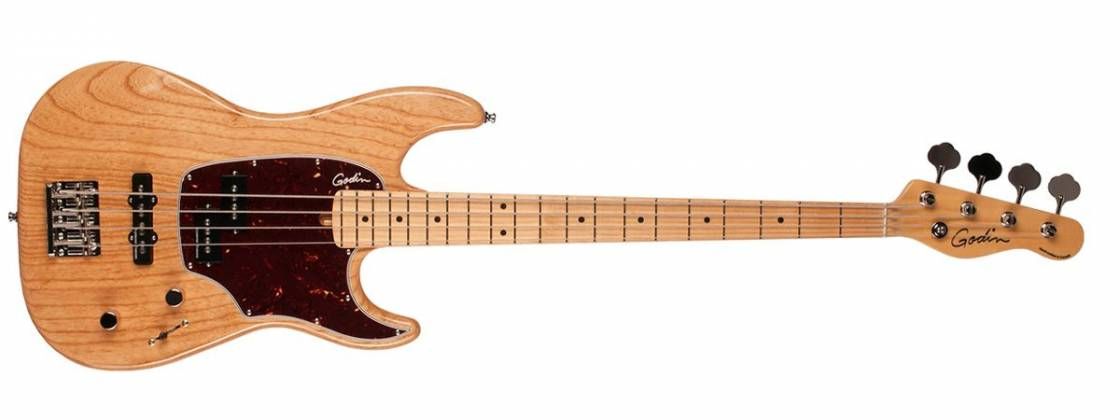 Godin 041985 Passion RG-4 Swamp Ash Top 4 String Bass Guitar with Maple Fingerboard Product Image 2