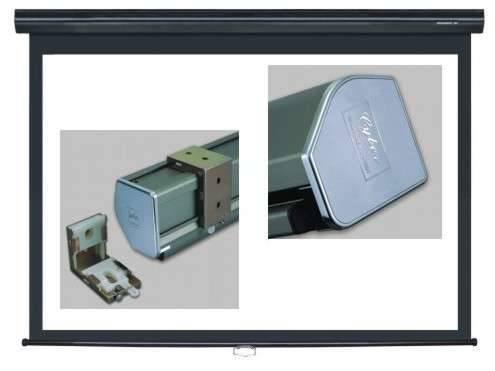 Grandview GV-CMO092 CB-MIR 92 Integrated Cyber Motorized Screen with Black Casing 16:9 Format Product Image 3