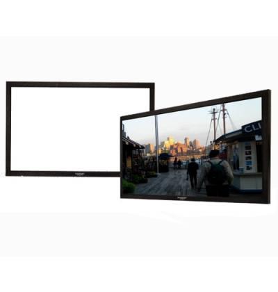 Grandview GV-PM084 LF-PU 84 Prestige Series Permanent Fixed Frame Screen 16:9 Format Product Image 2