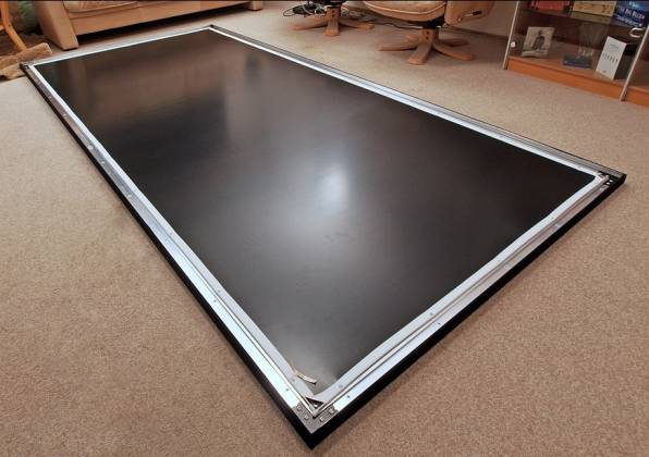 Grandview GV-PM135 LF-PU 135 Prestige Series Permanent Fixed Frame Screen 16:9 Format  Product Image 4